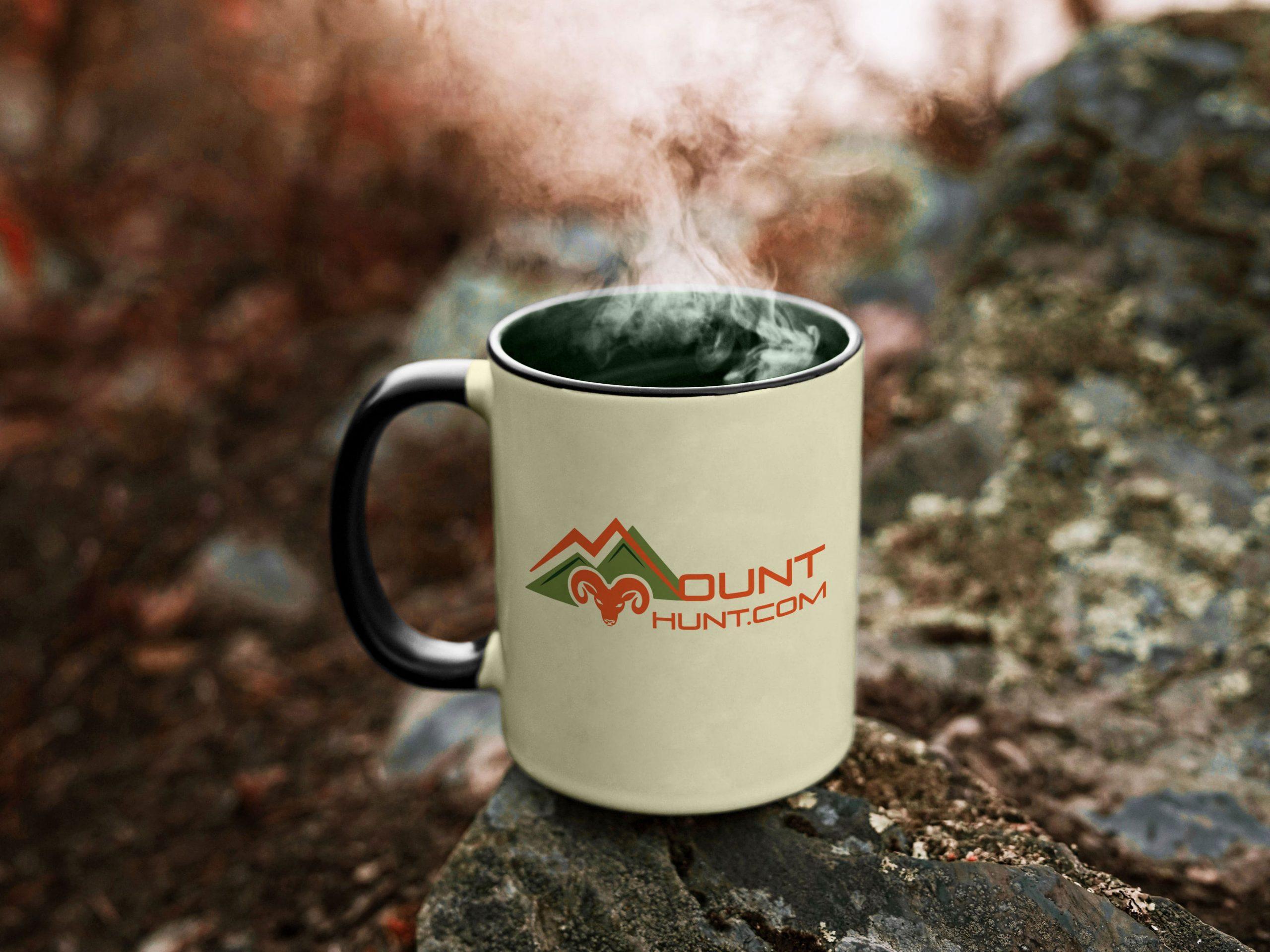 Mug-MountHunt logo cup