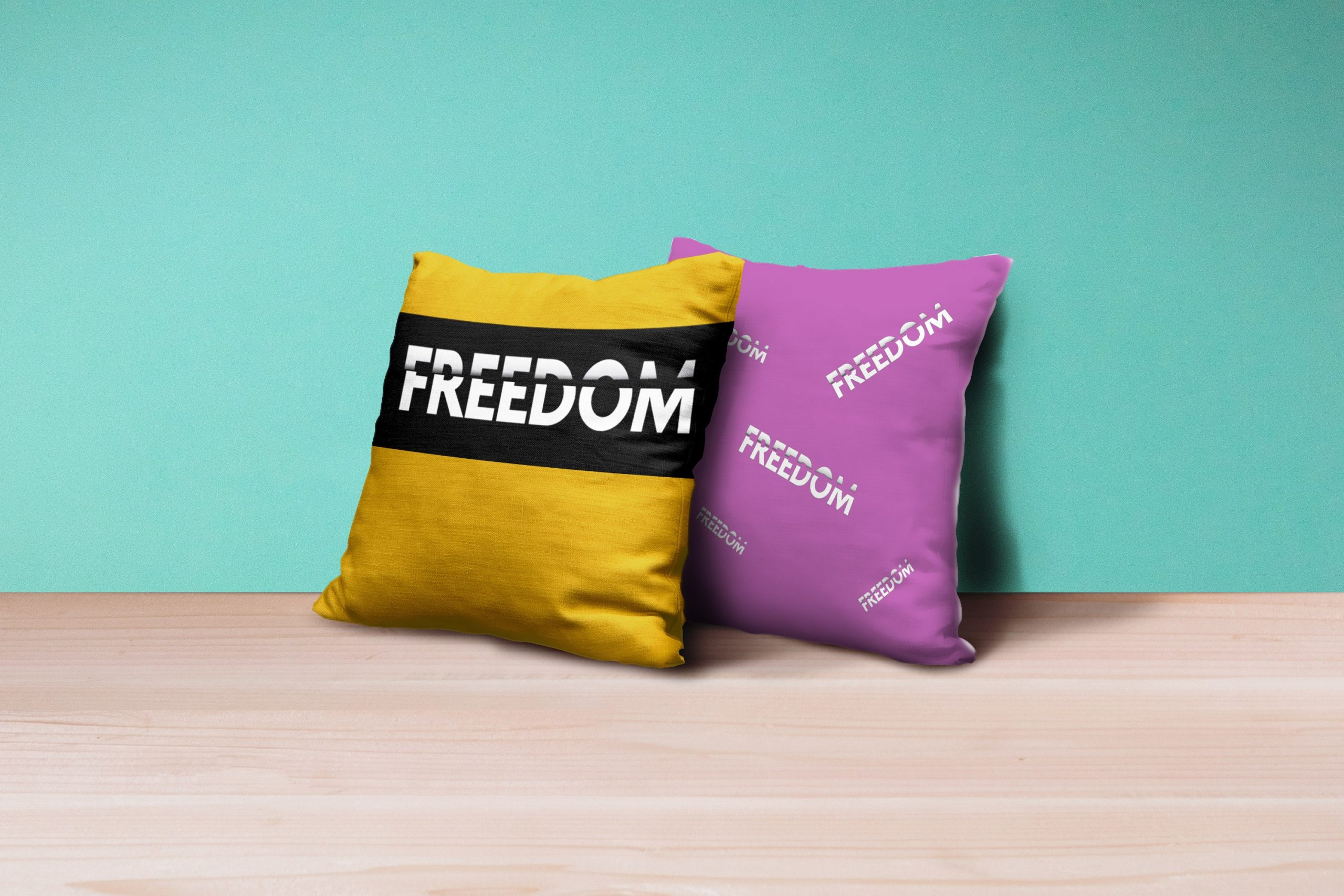 LOGO freedom Pillows- nindika
